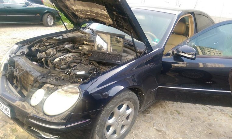 Mercedes E 320 cdi V6 Engine capacity 2987