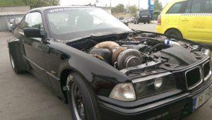 Bmw e36 2.5i turbo, 900hp
